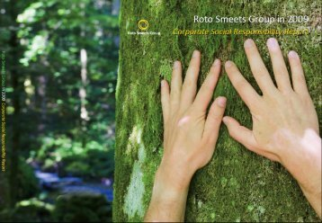 Corporate Social responsibilty Report 2009 - Roto Smeets Group
