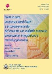 Scarica il programma - Associazione Italiana Pazienti BPCO