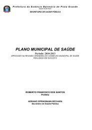 plano municipal de saúde 2010-2013 - Prefeitura de Praia Grande
