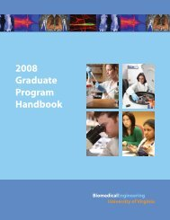 2008 Graduate Program Handbook - Department of Biomedical ...