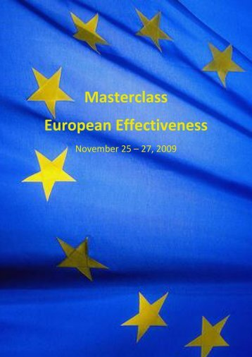 Master Class - Cultural and Management Consulting