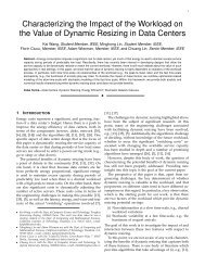 Characterizing the Impact of the Workload on the Value of Dynamic ...
