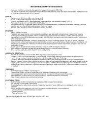 MYASTHENIA GRAVIS- Brief Outline
