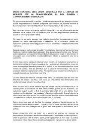 Moció en favor de la transparència [pdf 65 Kb] - Ajuntament de ...