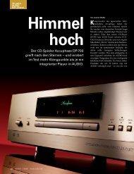 1978 Accuphase startet durch - PIA - HiFi Vertriebs GmbH