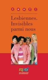 Lesbiennes. Invisibles parmi nous - Réseau québécois d'action pour ...