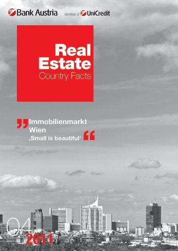 Real Estate: Immobilienmarkt Wien - Small is beautiful - Bank Austria