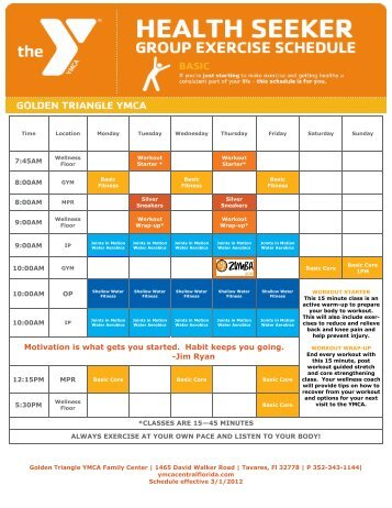Golden Triangle Health Seeker.pub (Read-Only) - YMCA