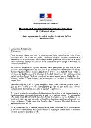 discours-olympiades LFNY - Consulat général de France à New York