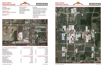 Site Plan & Demographics - RioCan