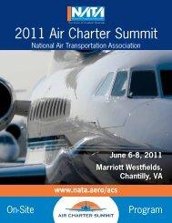 2011 Air Charter Summit - NATA