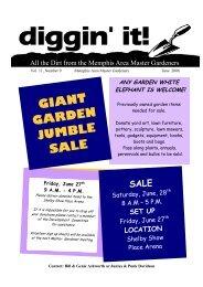 June - Memphis Area Master Gardeners