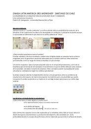 ENHSA LATIN AMERICA 3RD WORKSHOP SANTIAGO DE CHILE