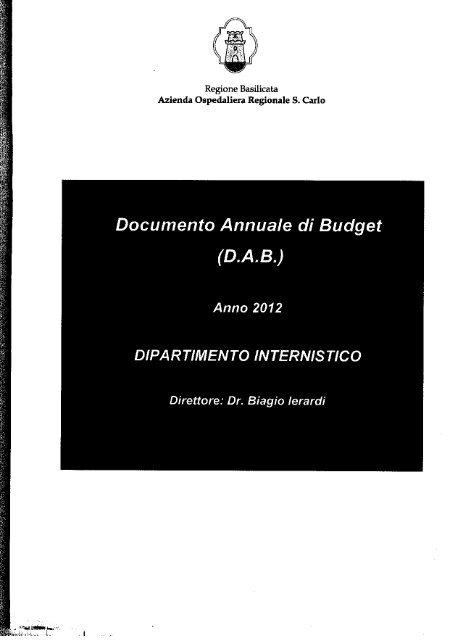 Dipartimento internistico.pdf - Ospedale San Carlo
