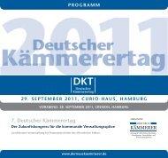 7. Deutscher Kämmerertag - Wolter Hoppenberg