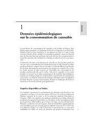 Données épidémiologiques sur la consommation de cannabis - Lara