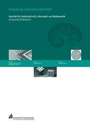 Forschung und Lehre mit Profil - Universität Paderborn