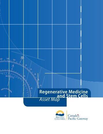 Asset Map Regenerative Medicine and Stem Cells - LifeSciences BC