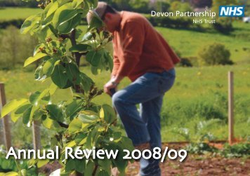 Annual Review 2008/09 - Devon Partnership NHS Trust
