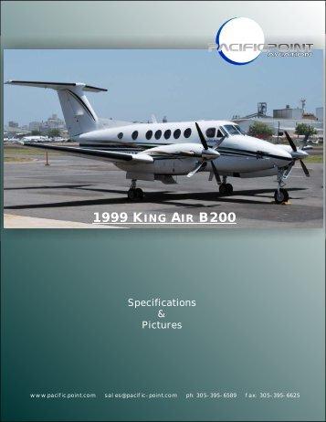 1999 KING AIR B200 - Pacific Point Aviation