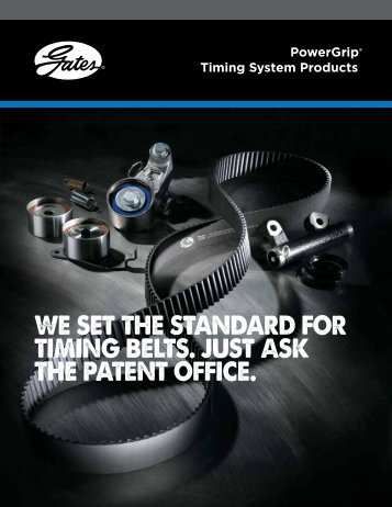 Timing Belts & Kits PowerGrip® Timing System Products