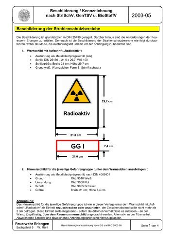 Biolabor-Kennzeichnung