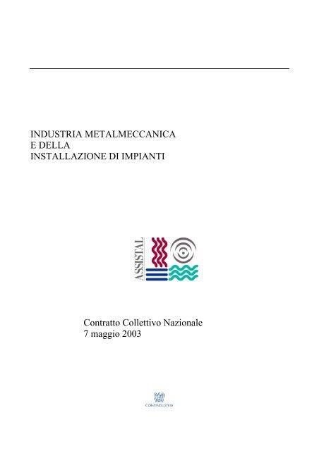 vendita a buon mercato usa arrivo come acquistare industria metalmeccanica e della installazione di impianti - Assistal