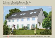 Flottmann-Carreé in Bochum-Riemke Neubau von 6 ...