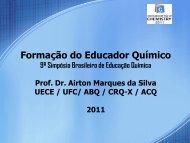 Formação do Educador Químico - Associação Brasileira de Química