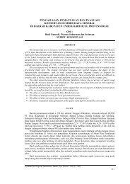 Pengawasan, Pemantauan Dan Evaluasi Konservasi Sumber Daya ...