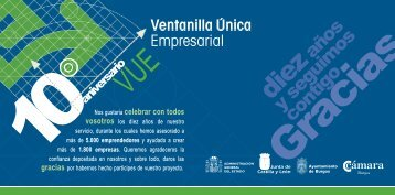 10aniversario - Cámara de Comercio e Industria de Burgos