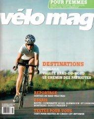 Vélomag - Vallée Bras-du-Nord