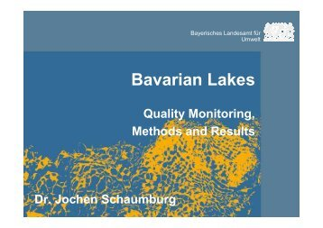 Bavarian Lakes - Wfd-croatia.eu