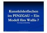 Kunstköderfischen auch im Wallis - Fishfinder.ch