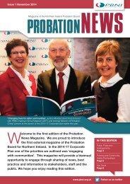 Probation News Magazine Issue 1 November 2014