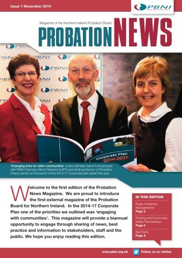 Probation News Magazine Issue 1 November 2014