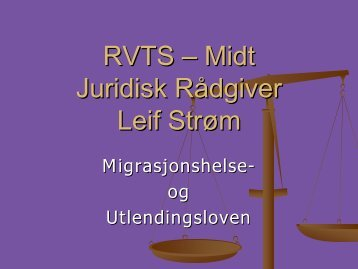Jurist og rådgiver Leif Strøm