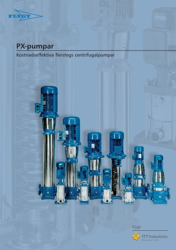PX-pumpar - Water Solutions