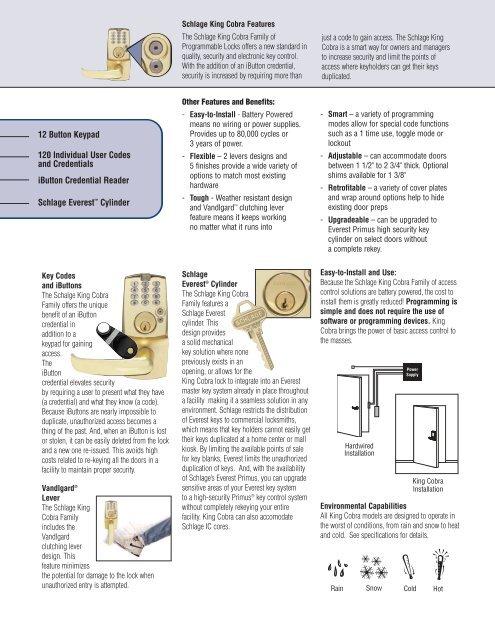 Locks pdf (locknetics) orchard lock locknetics.