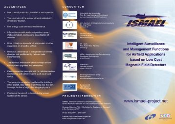 Project Brochure - ISMAEL