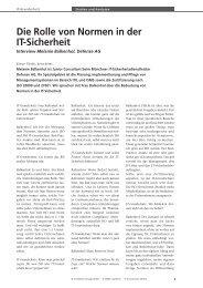 Grundschutz 2010-02.indd - Hier finden Sie aktuelle Mitteilungen