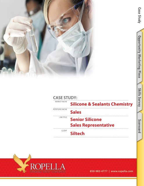 Silicone & Sealants Chemistry - Ropella