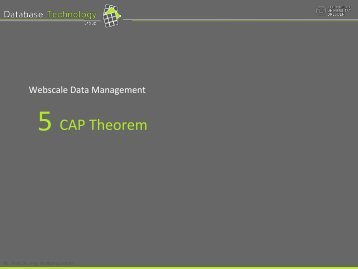 Proof sketch of the CAP theorem (5)