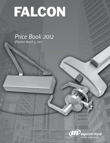 Price Book 2012 - Yates and Felts Inc