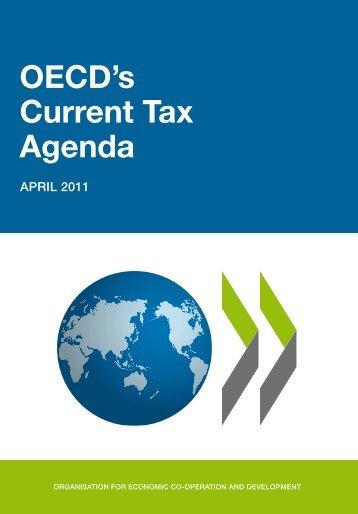 OECD's Current Tax Agenda - Irish Tax Institute