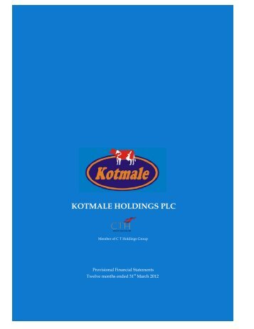 KOTMALE HOLDINGS PLC