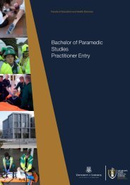 BSc Paramedic Studies - Practitioner Entry