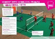 volleyball - 6 v 6 - School Games