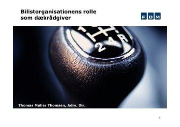 Bilistorganisationens rolle som dækrådgiver