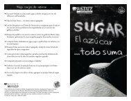 El azúcar...todo suma - Food Hero